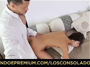 LOS CONSOLADORES - Russian Gina Gerson porked in FFM