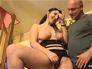 LA newbie - sizzling ass fucking pulverize with handsome French first-timer