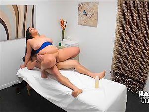 Hidden camera massage bed hook-up