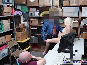 My fresh step daddy caught me screwing his chum Suspect and playmate were caught by LP cop