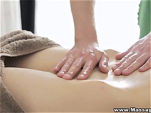 massage X - assfuck on massage table