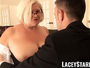 LACEYSTARR - subjugated GILF bum tucked by Pascal milky