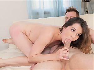 Kasey Warner getting her labia pummeled in by Bill Bailey