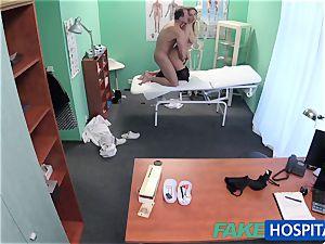 FakeHospital hefty breasts honey has a back problem