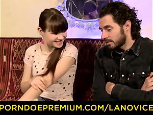 LA new-comer - hot French teenage inexperienced jammed doggystyle