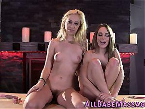 teenager and masseur lesbian