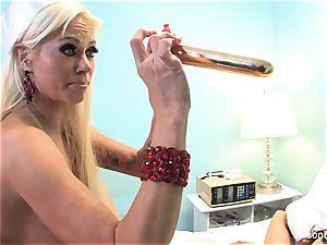 Alison gets seduced by bizarre Russian nurse Nikita