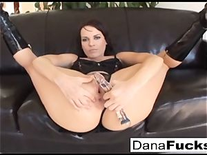 Dana gets her caboose plunged with a ginormous ebony boners