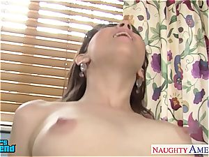 nubile brown-haired Cassidy Klein take a large man meat