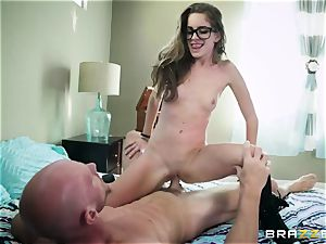 expert teacher Johnny Sins penalizes horny schoolgirl in glasses Kimmy Granger