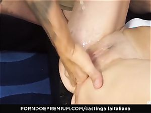 casting ALLA ITALIANA - rookie assfuck gape and ravage
