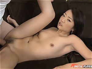 cute chinese Miko Dai gets crammed by a huge shaft