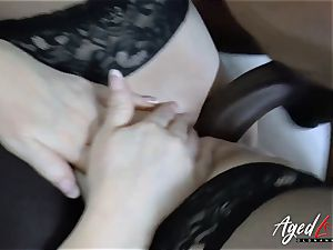 AgedLovE Lacey Starr multiracial hard-core sex