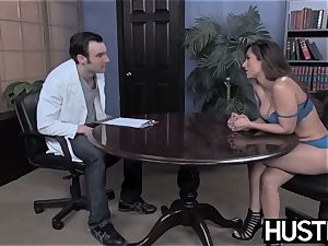 huge-chested Reena Sky earns facial after godly sausage riding