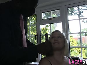 Lacey Starr romped rigid by a black man