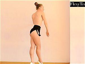 Anna Mostik the warm Russian gymnast