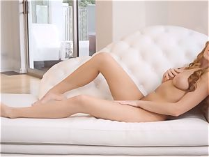 bare masturbation with redhead Bailey Rayne