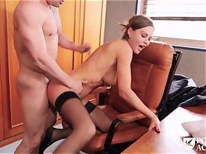Our fresh schoolteacher Tina Kay revved out to be a real rectal mega-slut