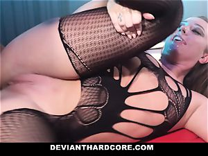 DeviantHardcore - encaged whore Gets dominated By bbc