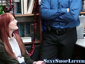 nubile shoplifter gargling
