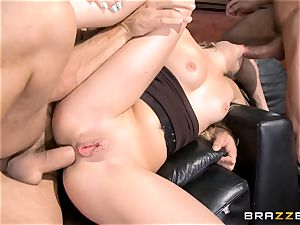 very first dual invasion for Madelyn Monroe