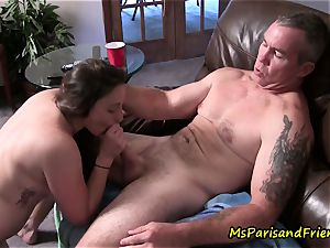 Ms Paris and Her Taboo Tales-Daddy daughter Get Caught