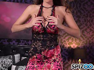 Spizoo-Watch Alison Tyler pummeling a immense stiffy fat boobs