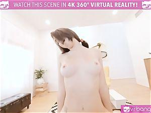 VR porn - JOSELINE KELLY MY SISTERS sizzling pal penetrate