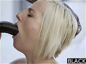 BLACKED cheating blonde wifey Kate Englands first big black cock