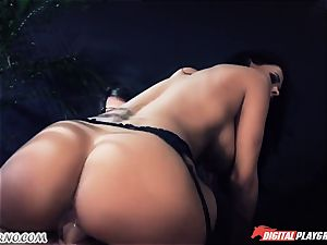 She is very excellent and stunning. Her ample bra-stuffers maddening