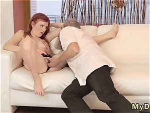 senior grandma going knuckle deep first time unexpected experience with an senior gent
