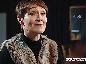 Private.com - Ella Hughes, cum in Her fur covered cunny