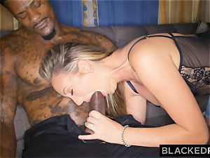 BLACKEDRAW Out Of Town girlfriend Cheats With bbc After fighting With beau