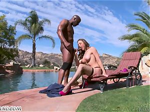 rigid ass fucking humped with black bull and big-titted adult movie star Chanel Preston