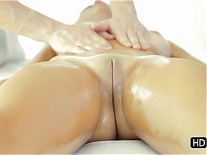 Dillion Harper getting a total on sexual massage