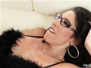 buxom black-haired Dava Foxx likes to plumb