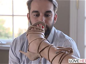 LoveHerFeet cheating On My bf For torrid foot hump