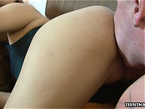 sole fetish sex with a highly torrid chinese gal