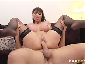 Keiran Lee wants to have fuck-a-thon with his mature maid with phat elastic breasts