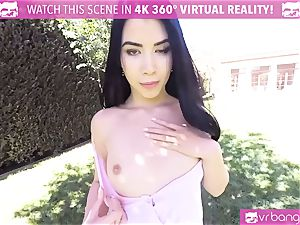 VR PORN-Hot ebony banged rigid pov