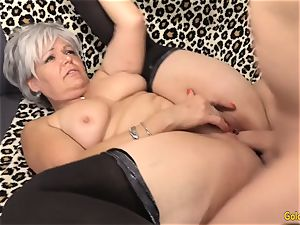 grandmother Kelly Leigh Is ultra-kinky for a cock