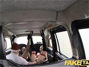 faux taxi Xmas theme special santa buttfuck porks 2 elves