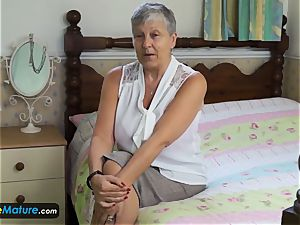 EuropeMaturE handsome and huge-boobed grandmothers Compilation