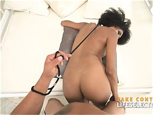 sumptuous ebony call girl is prepared fulfill your cravings