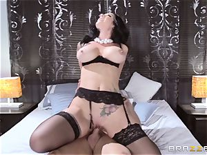 mind-blowing wife Jayden Jaymes pounded by her molten spouse