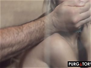 PURGATORYX fuckin' a warm milf and her tiny stepdaughter