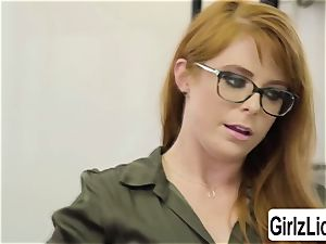 steaming Therapist Penny Pax gets her coochie pounded by client Whitney Wrights