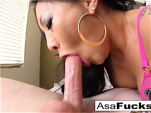 pornographic star Asa Is Known For Her sloppy BJs