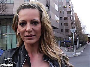 amateur pornography with mature street super-bitch Eve
