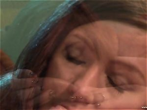 Maddy OReilly gets her facehole packed with meaty cum
